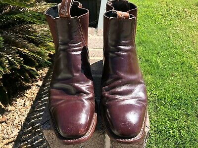 AU115 • Buy RM Williams Brown_Craftsman_Size 8.5 CGF_R.M Chelsea Boot_Great Condition