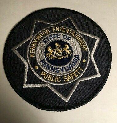$19.99 • Buy KENNYWOOD Amusement Park EMPLOYEE UNIFORM PATCH Public Safety Entertainment