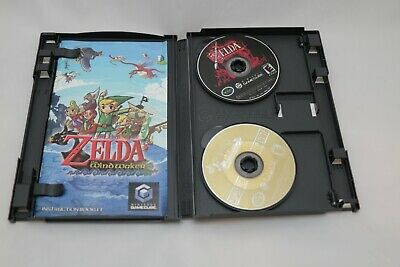 $99 • Buy RARE! Zelda Wind Waker GameCube W/ Ocarina Of Time Master Quest TESTED WORKING!!