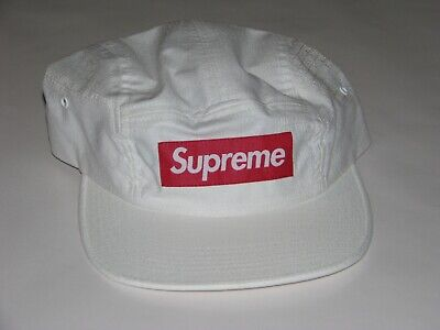 $ CDN158.94 • Buy SUPREME F*ck Everybody Jacquard Camp Cap WHITE Hat NEW! S/S 2019 USA Made!
