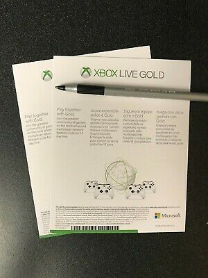 $4.79 • Buy Microsoft Xbox Live Gold 1 Month Trial (2 X 14 / 28 Days) UNUSED
