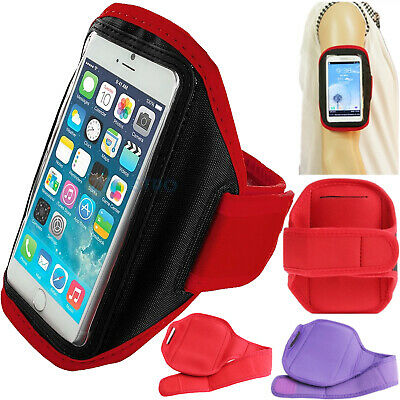 Gym Running Armband Jogging Sports Exercise Holder Strap For IPhone 8 / 7 / 6 6S • 2.98£