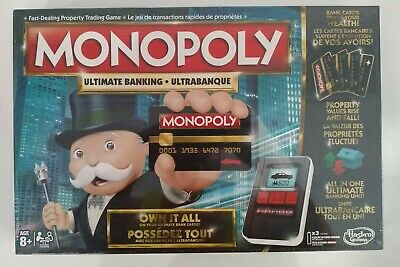 $33.14 • Buy NEW Monopoly: Ultimate Banking Edition Electronic Board Game