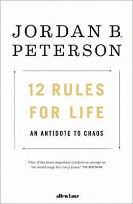 AU29.95 • Buy 12 Rules For Life An Antidote To Chaos Paperback Book Author Jordan B.Peterson