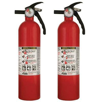 $39.95 • Buy ABC Fire Extinguisher Home House A B C Work Multiple Use Kidde 3.9 Pound 2 PACK