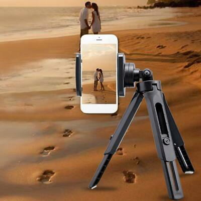 Telescopic Smartphone Video Tripod Stand With Phone Clip Holder Mount For Phones • 6.95£