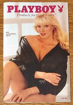 $4.99 • Buy PLAYBOY PRODUCTS FOR GOOD TIMES Fall 1989 Catalogs Lingerie,Video,Gifts