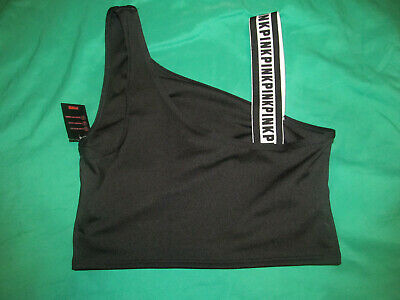$12.99 • Buy Nwt Victoria Secret Pink Ultimate Light Support Sports Bra Black Size Small