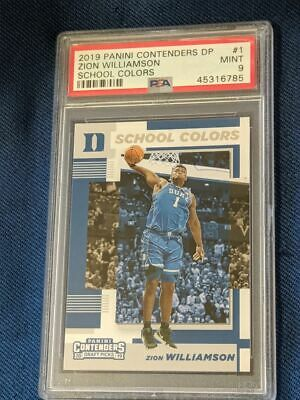 $19.99 • Buy 2019-20 Contenders Draft School Colors Psa 10 Zion Williamson Duke