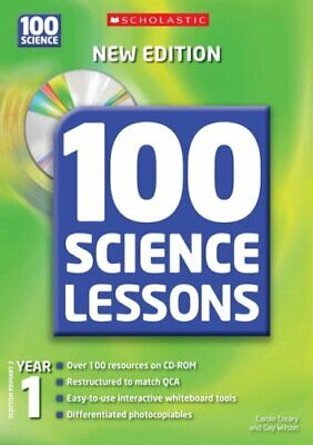 100 Science Lessons For Year 1 With CD-Rom By Wilson, Gay Mixed Media Product • 5.49£