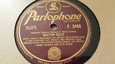 £2.99 • Buy Jimmy Shand And His Band Scottish Waltz & The Gay Gordons Parlophone F3406