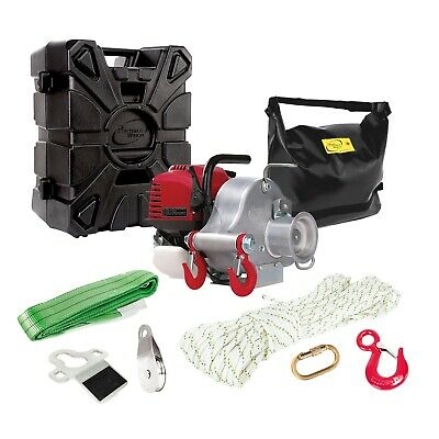 $1265.40 • Buy PORTABLE WINCH Gas-Powered Portable Capstan Winch With Accessories