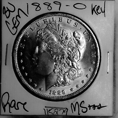 $15.50 • Buy 1889 O GEM Morgan Silver Dollar #115279 BU MS+++ UNC KEY Date Coin Free Shipping