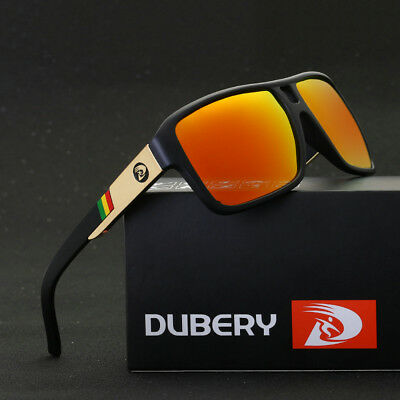 AU6.99 • Buy DUBERY Men's Polarized Sunglasses Outdoor Driving Fishing Goggles Sport Glasses