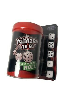 AU15.58 • Buy Yahtzee To Go Hasbro Travel Game 2014 Gaming Board Game Brown Brand New
