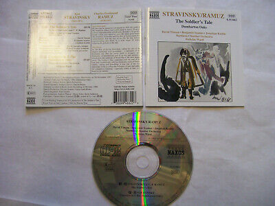 STRAVINSKY/RAMUZ/Northern Chamber Orchestra The Soldier's Tale/Dumbarton Oaks CD • 3£