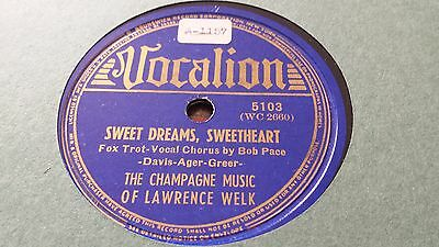 The Champagne Music Of Lawrence Welk Sweet Dreams Sweetheart Vocalion 5103 • 2.99£