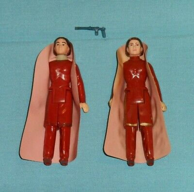 $ CDN100.12 • Buy Vintage Star Wars Princess LEIA BESPIN Action Figure Lot X2 (one Turtleneck)