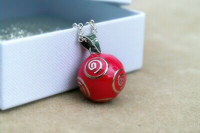 SALE Pregnancy  Bola Necklace Pink Spiral(Harmony Ball,Mexican Bola) • 20£