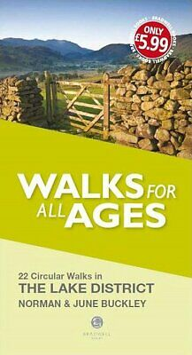 Lake District Walks For All Ages Book Bradwell Books • 5.66£