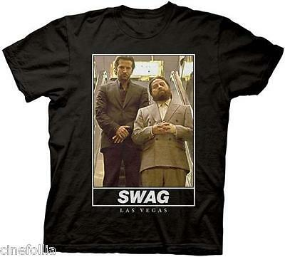 T-Shirt Phil And Alan Swag A Night From Leoni Jersey Man Official The Hangover • 17.53£