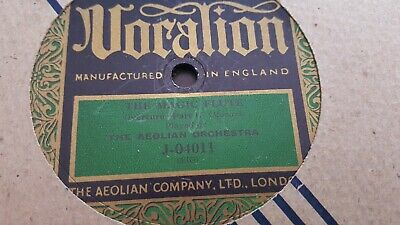 The Aeolian Orchestra The Magic Flute Overture Vocalion J04011 • 5.99£