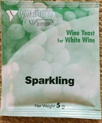 £4.30 • Buy SPARKLING WINE YEAST  5grms  X  2 Sachets
