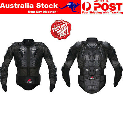 AU59.99 • Buy Motorcycle Protection Body Armour Motorbike Protective Armor Moto Protector Vest