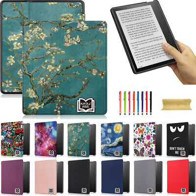 AU22.99 • Buy For Amazon Kindle Oasis 2019/17 W/sleep Pttern Leather Magnetic Flip Case Cover