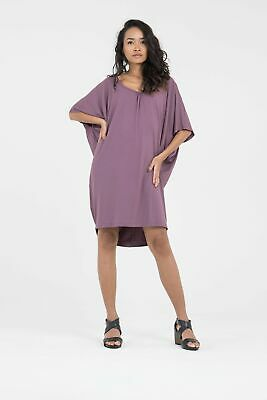 AU87.20 • Buy Donnah Clothing Cocoon Dress In Berry