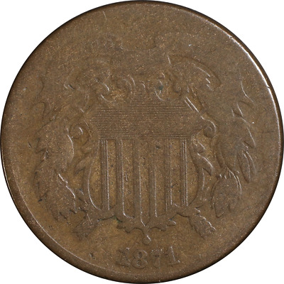 $ CDN36.20 • Buy 1871 Two (2) Cent Piece Great Deals From The Executive Coin Company
