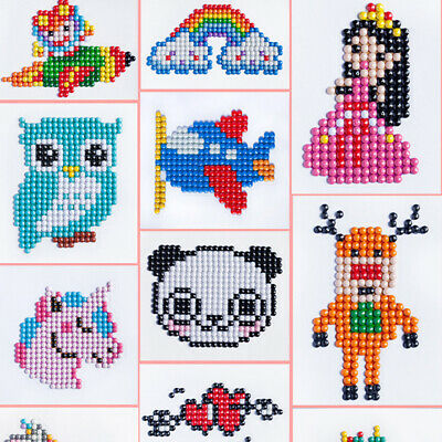 £3.29 • Buy 5D Children Diamond Painting Embroidery Craft Stitch Pictures Arts Kit Family