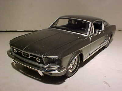 $11.66 • Buy 1967 Ford Mustang Fastback Die-cast Car 1:24 Maisto 8 Inches Gray NO BOX