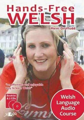 Hands-free Welsh - Welsh Language Audo Course New Audio CD Book • 12.41£