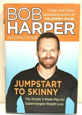 Jumpstart To Skinny Bob Harper The Simple 3-Week Plan For Supercharged Weight... • 3.54£