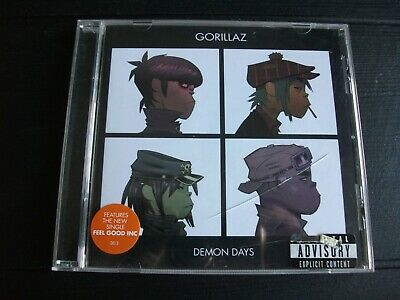 Gorillaz : Demon Days CD (2005) • 3.50£