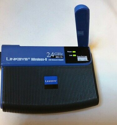 $4 • Buy Cisco Linksys WUSB11 Wireless B USB Network Adapter Powers On