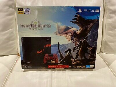 AU1248 • Buy PlayStation 4 Pro Ps4 Pro Monster Hunter World Liolaeus Limited Edition 1TB