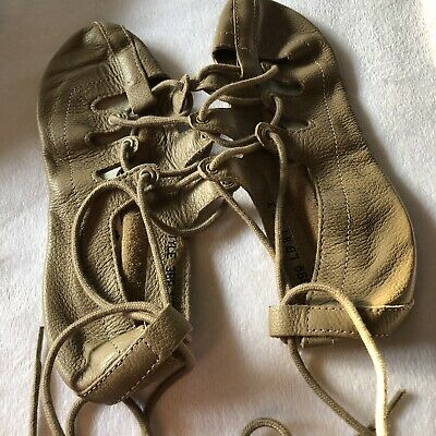 $24.95 • Buy Capezio Ghillie 389 Dance Shoe Size 3 Medium Tan Irish Lyrical New In Bag