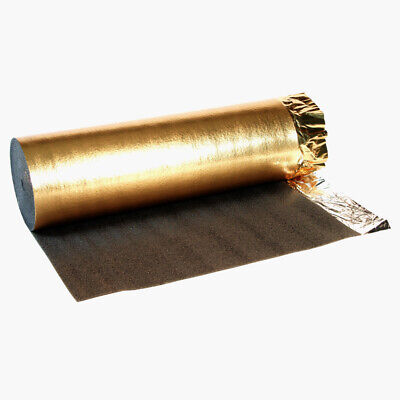 5mm Laminate Flooring Wood Underlay Soundproof Absorb Acoustic Heat Insulation • 38.40£