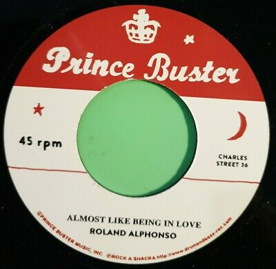 £14.95 • Buy Prince Buster. Almost Like Being In Love / Pink Night. Roland Alphonso