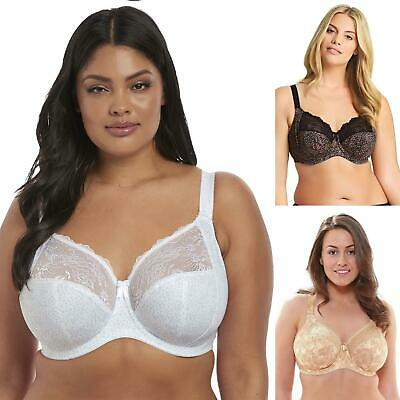 Elomi Morgan Bra Womens Underwired Full Cup Coverage 4110 Plus Size DD To K • 34.95£