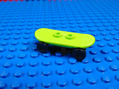 £1.97 • Buy Lego-city  Minifigures  X 1 Lime Green Skateboard With Black Wheels New Parts