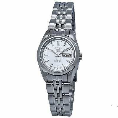 $ CDN107.70 • Buy Seiko 5 Automatic Silver Dial Ladies Watch SYMA27