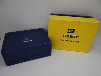 £130.94 • Buy Tissot Watch Box, Sport Models, Inner And Outer, Vintage 1960's