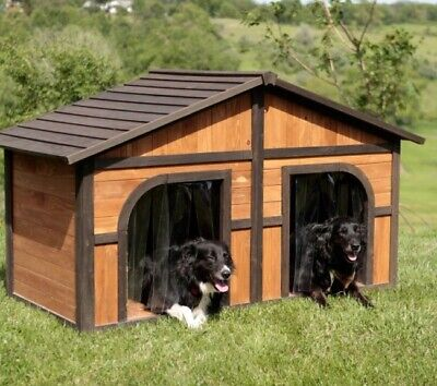 $465.80 • Buy Big Dog House XXL Medium Extra Large Dogs Houses Insulation Doors Kennel Home