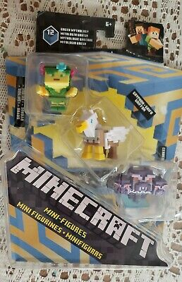 $34.95 • Buy Minecraft Greek Mythology Mini Figure Figures Rare Figure, 3 Pack:read