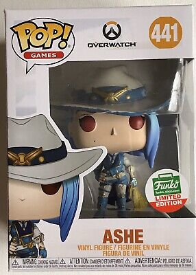 AU59.90 • Buy Ashe OverWatch Games #441 Cyber Monday 2019 Funko Shop Exclusive + Protector