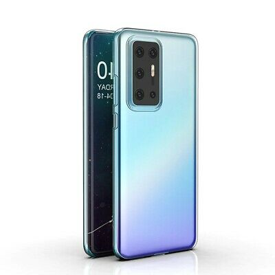 For Huawei P40 Pro Case Clear Silicone Ultra Slim Gel Cover  • 2.90£