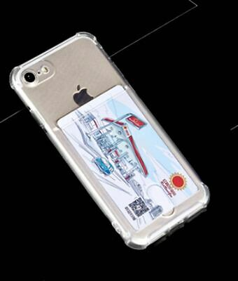 AU9.95 • Buy Anti Shock TPU With Card Slot Case For IPhone SE2 / 7Plus / XR/IPhone11 Pro MAX